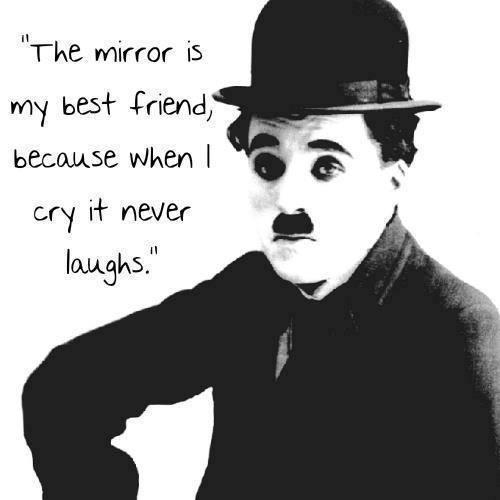 Charlie Chaplin the Mirror Is My Best Friend
