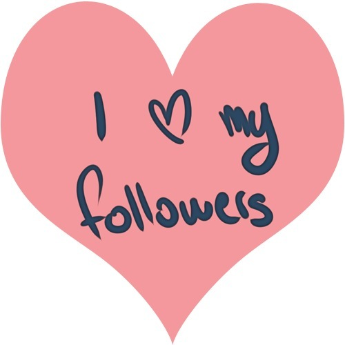 I love my follwers 3