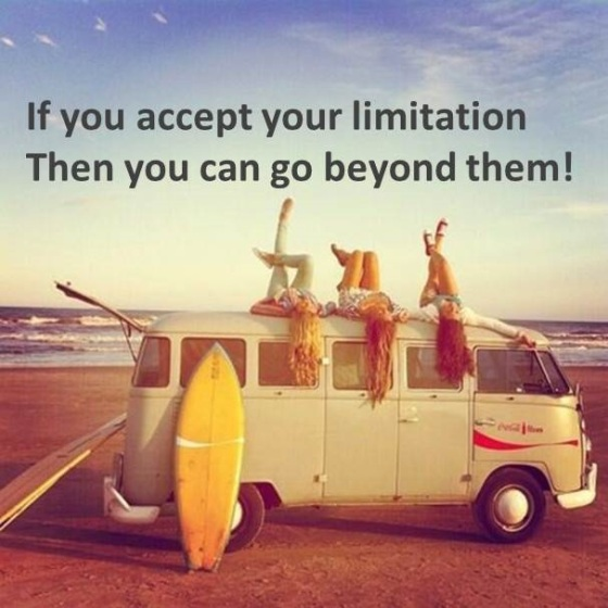 What to do with yourlimitation