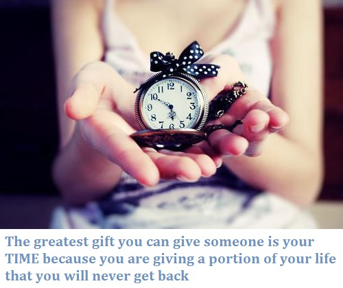 Greatest gift to someone